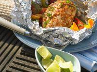 Hühnchen mit Currygemüse