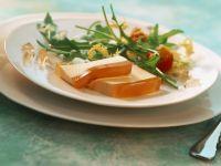Hummercreme auf Tomaten-Sternanis-Sülze