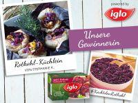 Gewinner-Rezept: Rotkohl-Küchlein