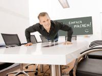 Patric Heizmanns Büro-Diät