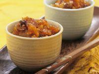 Indisches Chutney aus Trockenfrüchten