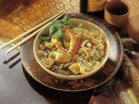 Indonesisches Reisgericht (Nasi Goreng)