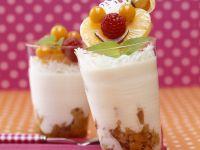 Joghurt mit Mandarinen