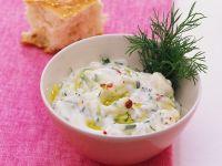 Joghurt-Zucchinicreme