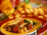 Käse-Bruschetta mit Tomaten