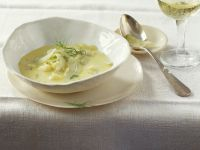 Käse-Fenchel-Suppe