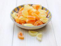 Kandierte Zitronen und Orangen