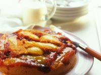 Karamellisierter Birnenkuchen