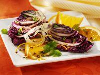 Karamellisierter Radicchio mit Orangen
