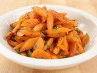 Karotten garen