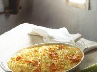 Karotten-Kartoffelpüree-Auflauf