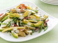 Kartoffel-Avocado-Salat mit Bohnen