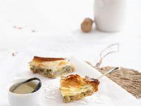Kartoffel-Filoteigkuchen mit Feta