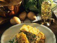 Kartoffel-Rindfleischauflauf mit Wirsing