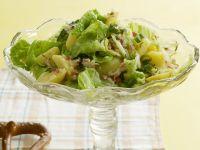 Kartoffel-Wirsing-Salat mit Speck