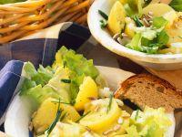 Kartoffelsalat mit Endivie