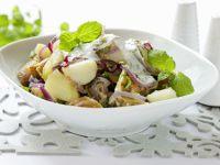 Kartoffelsalat mit Quarkdressing