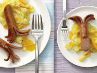 Kartoffelstampf mit Würstchen
