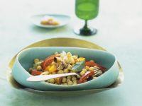 Kichererbsen-Kürbis-Curry mit Tomaten