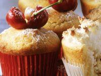 Kirsch-Marzipan-Muffin