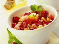 Kirsch-Melonen-Fruchtsalat