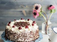 Kirsch-Sahne-Torte Schokolade (vegetarisch)