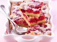 Kirschkuchen mit Puddingguss