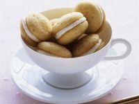 Kleine Whoopie Pies mit Vanille