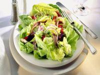 Kopfsalat mit Sahne-Dressing