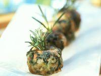 Krabben-Zucchini-Klößchen