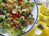 Kräuter-Omelett mit Salat