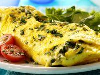 Kräuter-Omelette