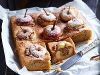 Kuchen mit Bratäpfeln