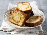 Kuchen mit Mirabellengelee