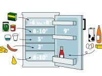 Kühlschrank Infografik