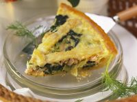 Lachs-Spinat-Pie