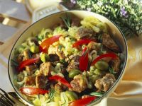 Lamm-Gemüse-Topf mit Rosmarin