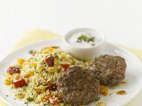 Lamm-Köfte mit Couscous