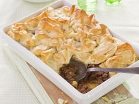 Lammfleischkuchen mit Filoteig