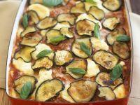 Lasagne mit Auberginen