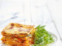 Lasagne mit Zucchini und Paprika