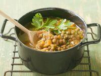 Linsentopf mit Suppengemüse