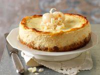 Lychee-Cheesecake