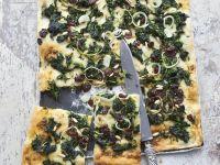 Mallorquinische Pizza mit Gemüse