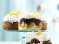 Mandel-Aprikosen-Torte