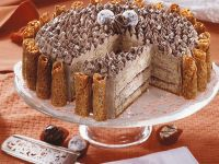 Mandel-Buttercreme-Torte
