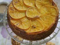 Mandelkuchen mit Orange