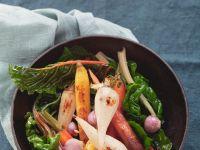 Mangold mit Gemüse
