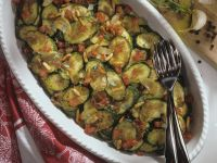 Marinierte Zucchinischeiben