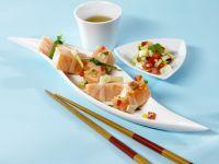 Marinierter roher Fisch (Ceviche)